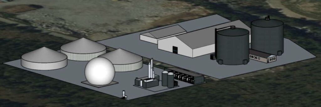 Biogas Plant for Vest Biogass in Hornindal, Norway - Combigas